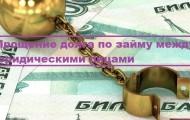 Процедура оформления прощения долга по займу между юридическими лицами