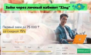 Оформление займа через личный кабинет компании Zing: функционал сайта, условия для заемщиков