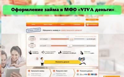Оформление займа в МФО «Вива деньги»: требования к заемщику, условия компании