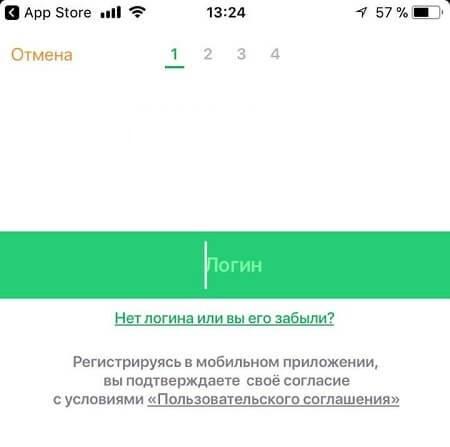 Приложение Сбербанк Онлайн для iPhone