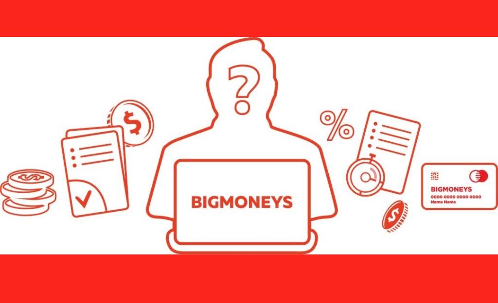 BIGMONEYS личный кабинет