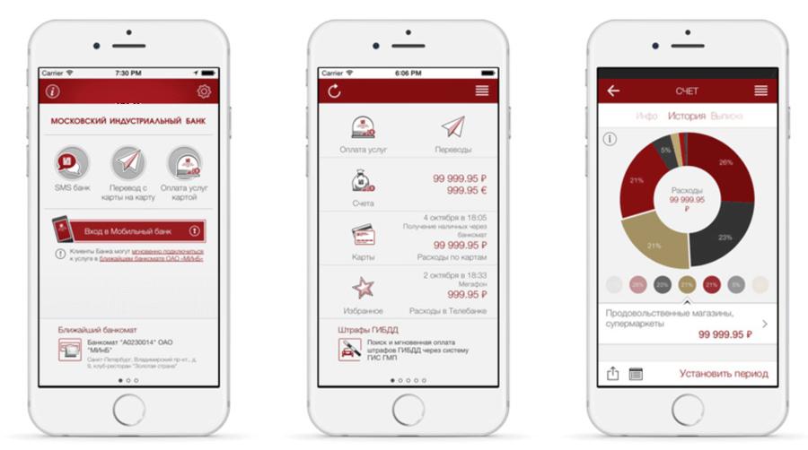 Мобильное приложение МИнБ