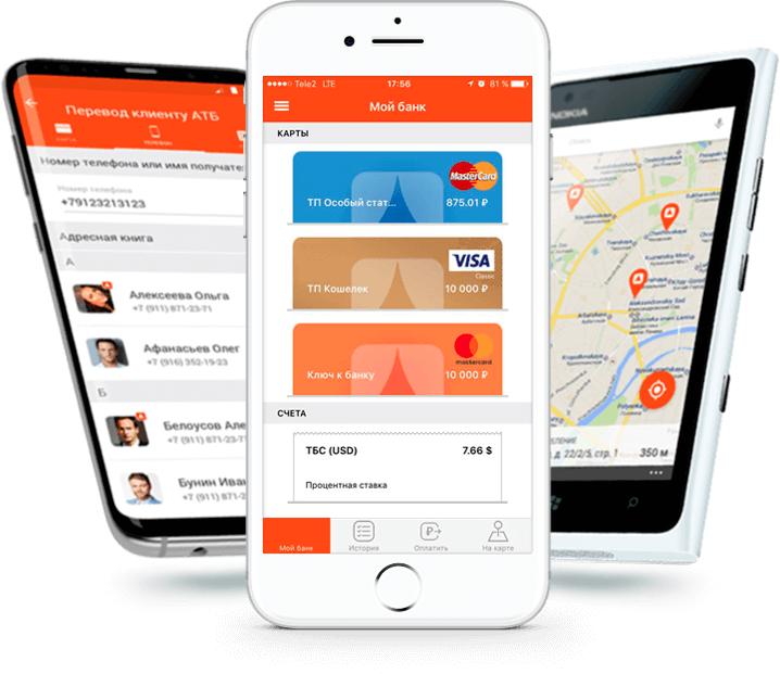 Мобильное приложение АТБ Онлайн