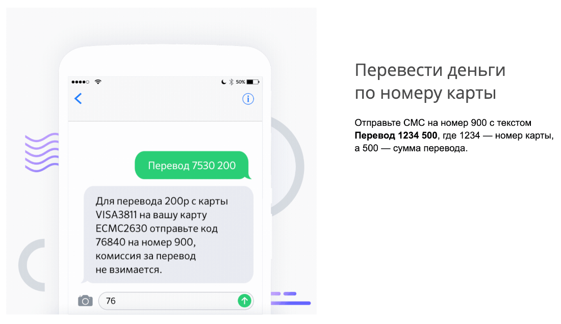 Перевод по номеру карты Сбербанка