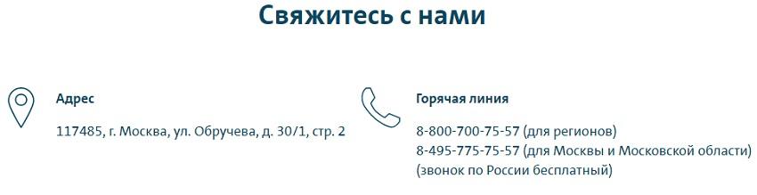 Контакты Вольксваген банка