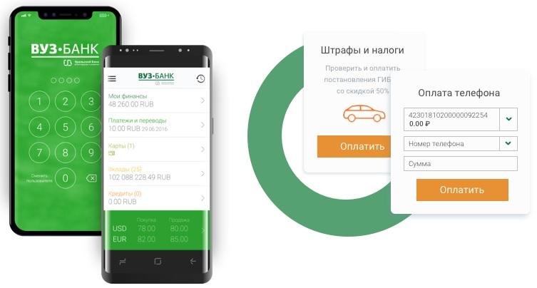 Мобильное приложение ВУЗ-банк