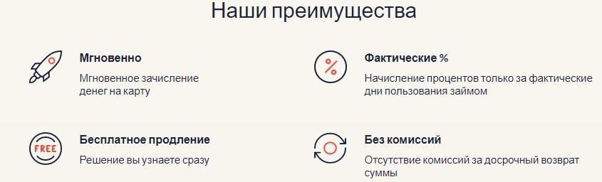 Преимущества МФО Кредиттер