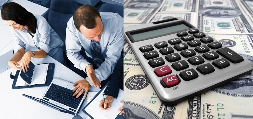 бизнес и калькулятор