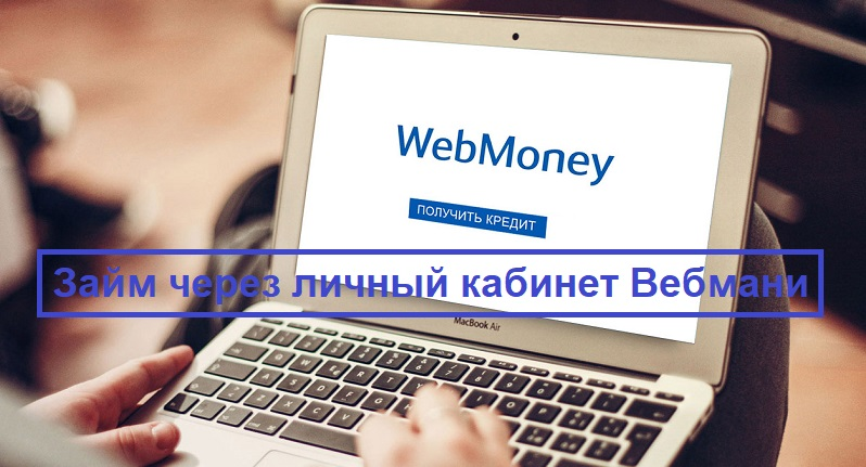 Онлайн займ через Вебмани