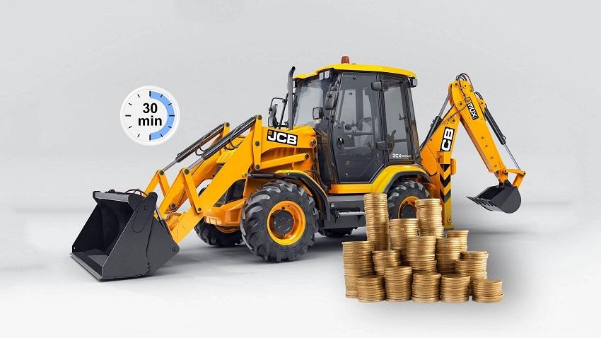 трактор и монеты