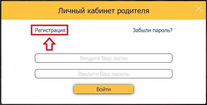 Регистрация в ЦДДП