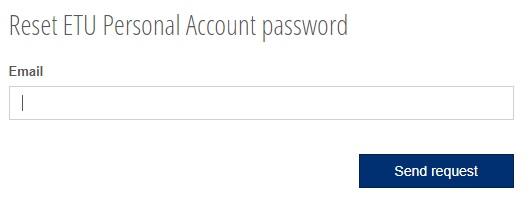 ЛЭТИ пароль