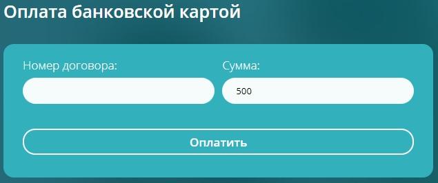 Vidnoe.NET оплата