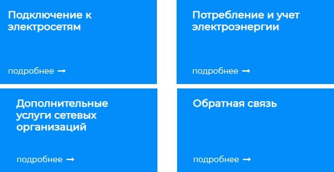 Портала ТП-РФ услуги