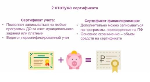 Навигатор сертификат