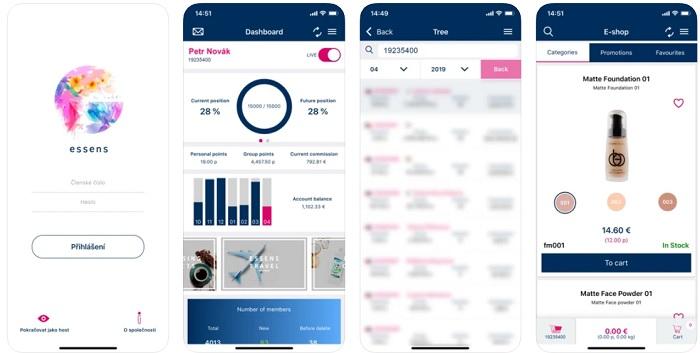 скриншоты мобильное приложение