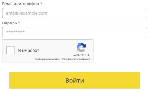 Кредит ап вход