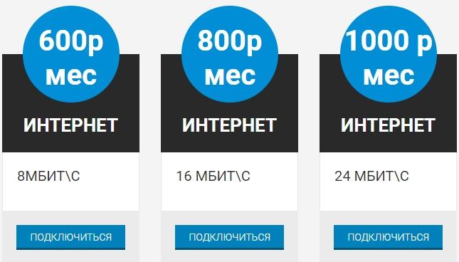ФБ Телеком тарифы