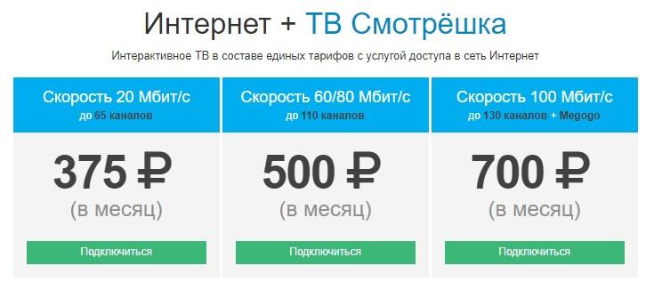 Лайт-Телеком тарифы