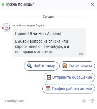 Мираполис Апрель помощь