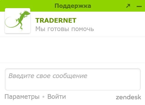 tradernet чат поддержки