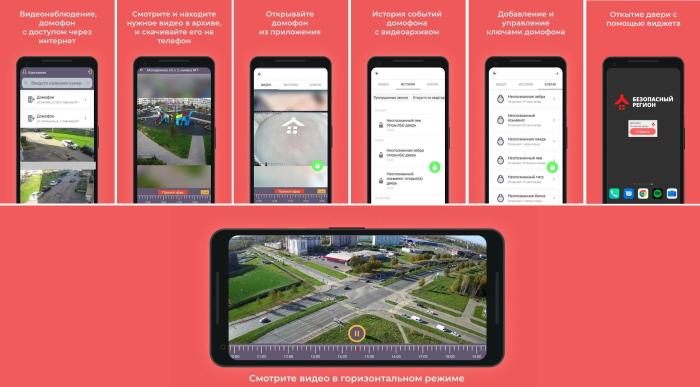 Saferegion net мобильное приложение